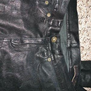 Rag & bone leather/Jean